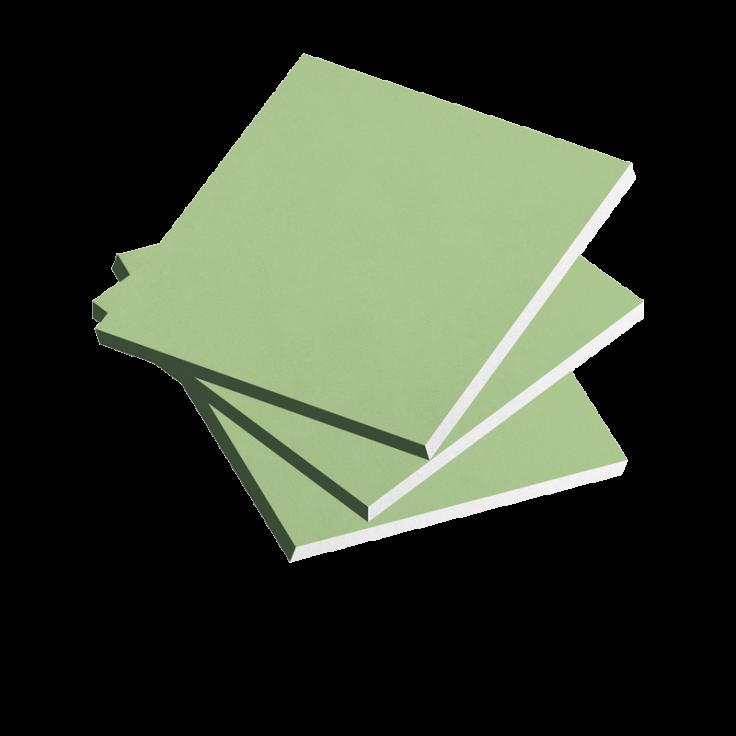 Asvil Alçı Plaka (Yeşil)